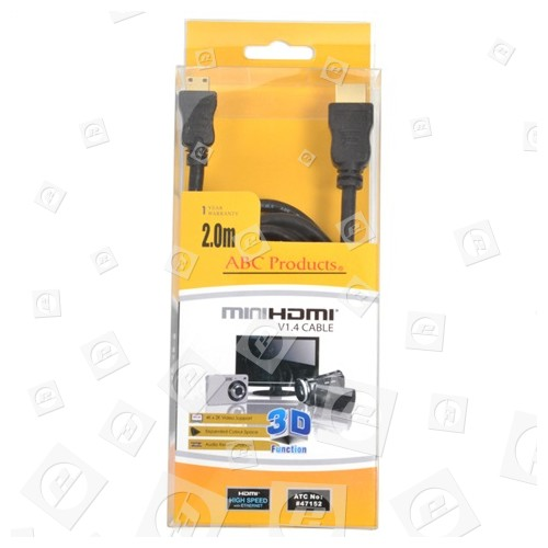 ABC Products Mini HDMI Auf HDMI Kabel 2m