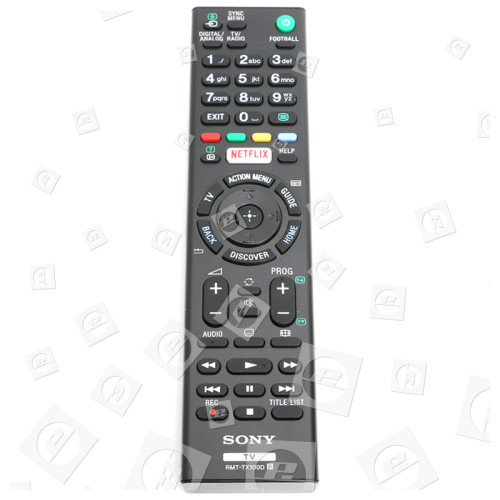 Mando A Distancia Televisión RMTTX100D Sony