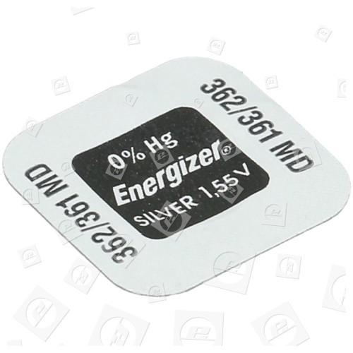 Pile Bouton Oxyde D'Argent 362 / 361 1,55V Energizer