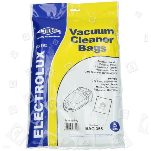 Sacchetto Per Aspirapolvere Classico S-Bag (confezione Da 5) - BAG355