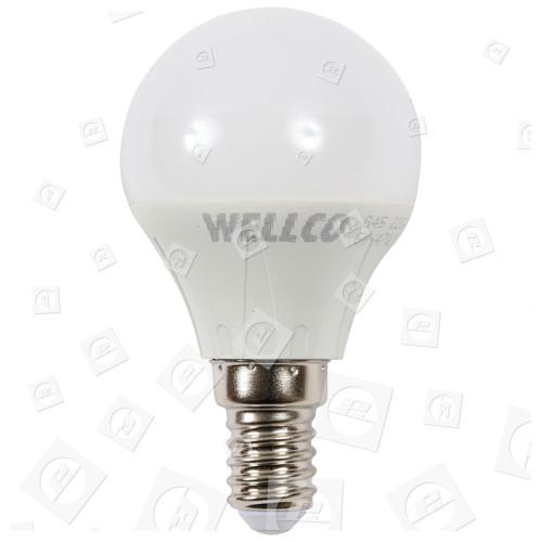 6W Ses Round Lampada A Sfera Da Golf (bianco Caldo) Equivalente A 30W Wellco