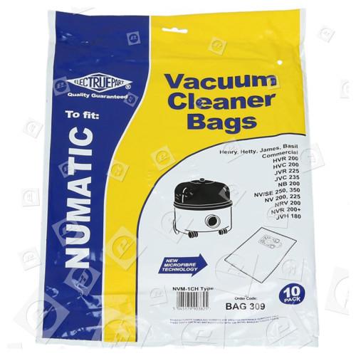 NVM-1CH Filter-Flo Synthetische Staubsaugerbeutel (10er Pack) - BAG309