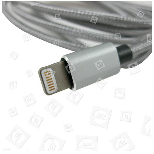 Apple 1,0m Lightning-Kabel - Grau