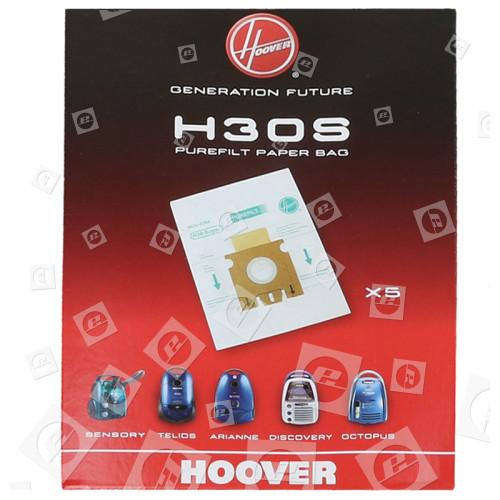 Hoover H30S Staubsaugerbeutel (5er Pack)