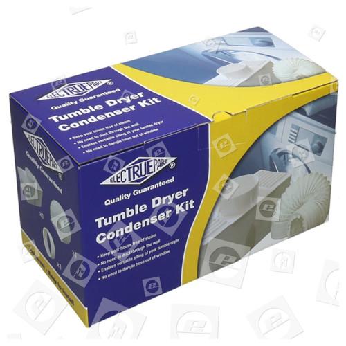 """Kit Universale Scatola Condensatore(2 M Di Lunghezza Da 4 """"tubo) Hoover"""