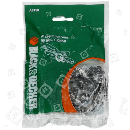 Black & Decker 15cm Alligator Angetriebene Ersatz-Astscherenkette