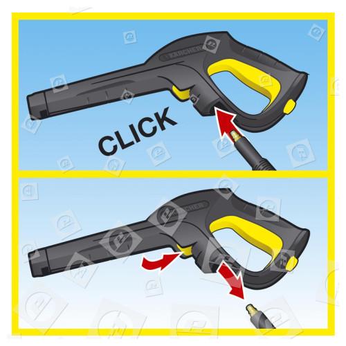 Karcher Hochdruckreiniger-Pistolengriff