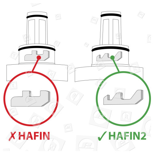 Cartouche - Filtre À Eau Interne HAFIN2/EXP Samsung