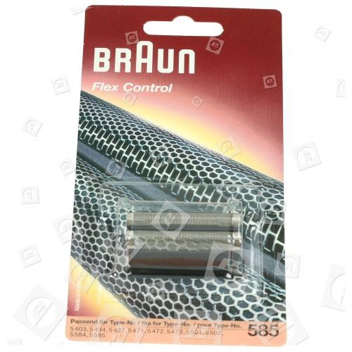 585 Controllo Flessibile/ Controllo Doppia Lamina Braun