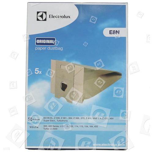 E8N Sacchetto Di Carta AT8 Electrolux
