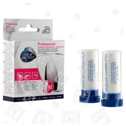 Stick Pulisci Piastra Per Ferri Da Stiro (2 Sticks) Care+Protect