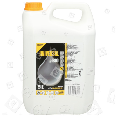 Bio-Kettenöl OLO008 1 Liter McCulloch Kettenöl