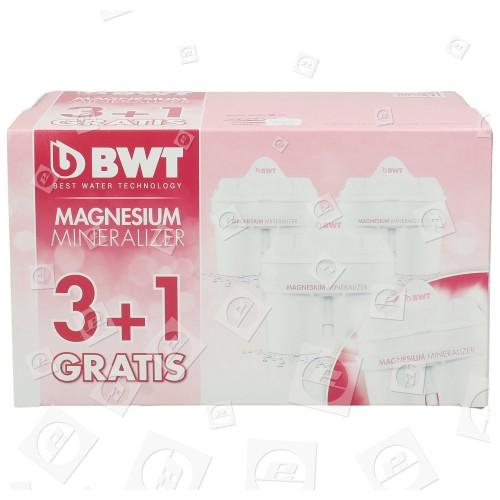 BWT Langlebige MG2+ Filterpatrone (4er Packung)