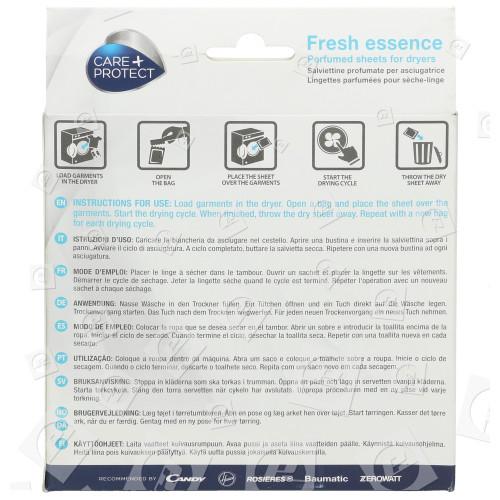 Fogli Profumati Di Asciugatura Fresh Essence (confezione Da 20) Candy
