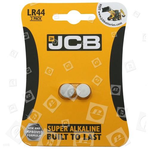 LR44 Pile Bouton Super Alcaline (Paquet De 2) JCB