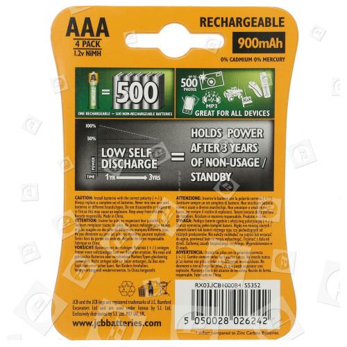 Piles Rechargeables (Prêtes À L'emploi) AAA NiMH JCB
