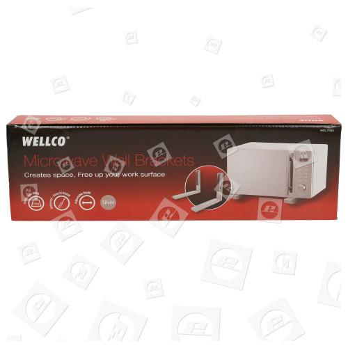 Wellco M638EC Mikrowellen-Wandhalterung (2 Stck)