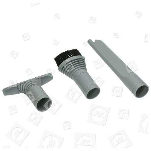 32mm Universal Bodendüsen Set Grau
