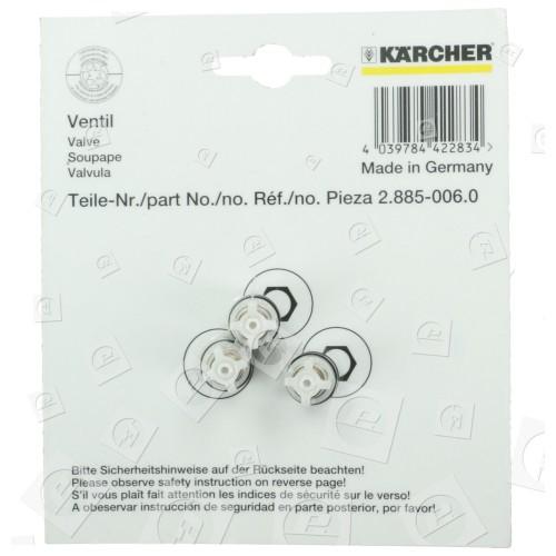 Karcher Ventil Set (3 Stück)