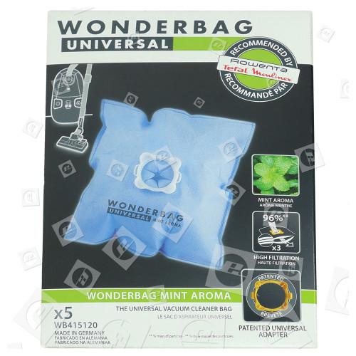 Rowenta Universal Wonderbag Minzduft Staubsaugerbeutel (5er Packung)
