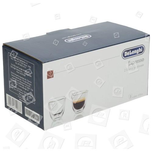 Delonghi Espresso.Tassen (2er Packung)