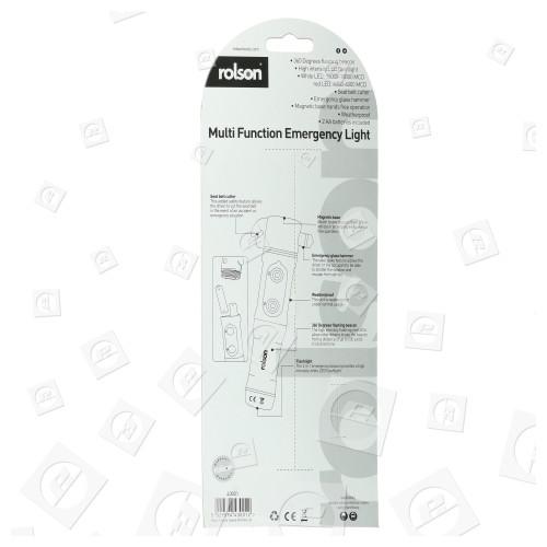 Rolson 43001 Multifunktions-Notfalllampe