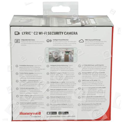 Lyric™ C2 Wi-Fi Caméra De Sécurité Honeywell