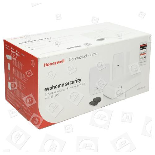 Pack Alarme Connecté Intelligent Sans Fil Avec Gprs Evohome Honeywell