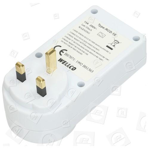 Wellco RCD Sicherheits Netzadapter - Für GB Stecker
