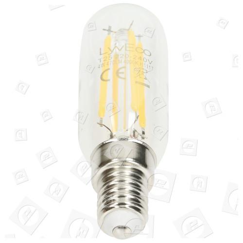 Ampoule De Hotte Aspirante Transparente 4w T25 E14 Ses Led