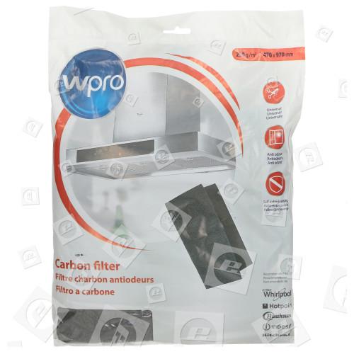 Filtro De Carbón Universal De Campana Extractora FHO009 - 470 X 970mm. Wpro