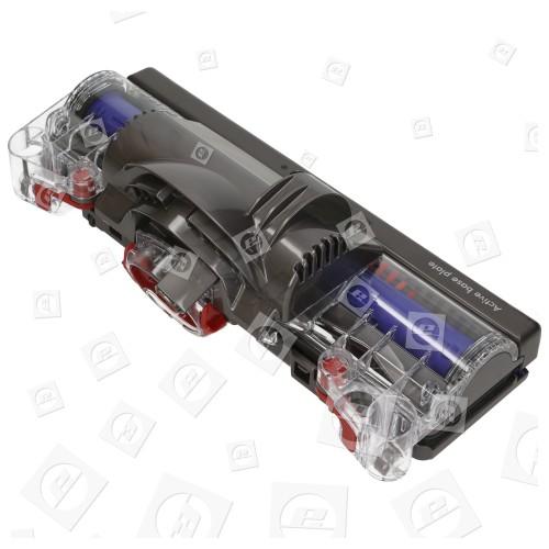 Dyson DC75 Animal Extra (Iron/Bright Silver/Sprayed Nickel & Red) Turbo-Bodendüse Kpl.