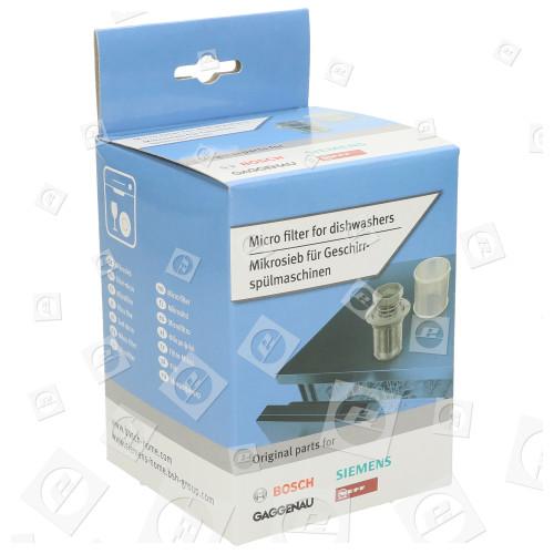 Micro Filtro Cilindrico /lavastoviglie Bosch Neff Siemens