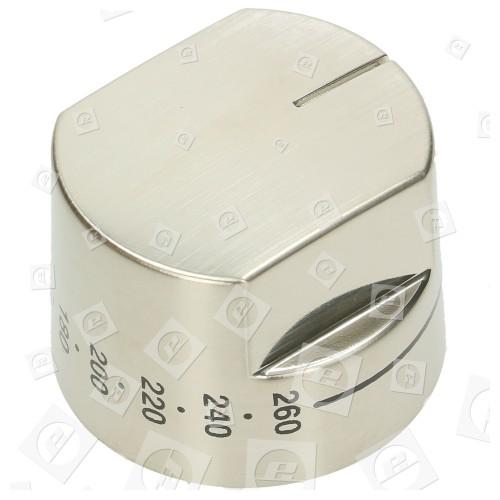 Backofen-Thermostat-Bedienknopf - Edelstahl