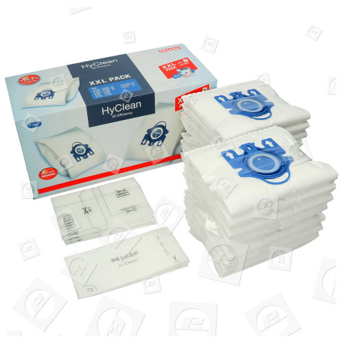 GN XXL Pack Staubsaugerbeutel Miele HyClean 3D Efficiency Typ