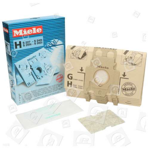 Miele H-Typ HyClean Staubsaugerbeutel (5er Pack)