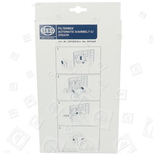 Sebo 5093ER Filterbox Filtertüten (8er Pack)