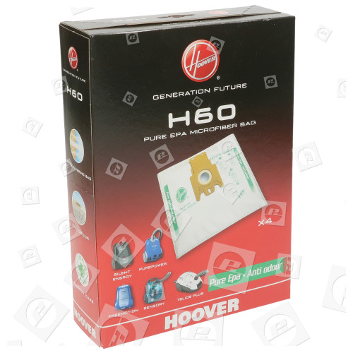 Sacchetti Per Aspirapolvere H60 (confezione Da 4) Hoover