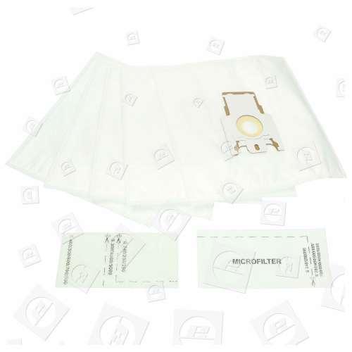 F/J/M Sacchetti Di Carta Filtro-Flo (Pacco Da Include 2 Include Filtri Da Tagliare Su Misura)BAG230 Blue Star