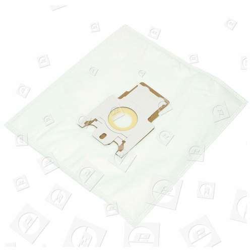 Miele F/J/M Filter-Flo Synthetische Staubsaugerbeutel (5er Pack Einschl. 2 Zuschneidbaren Filtern) - BAG230