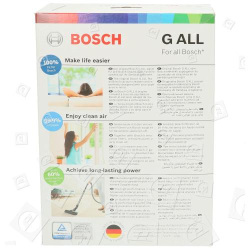 Bosch Synthetische Staubsaugerbeutel - Typ G (4er Packung)