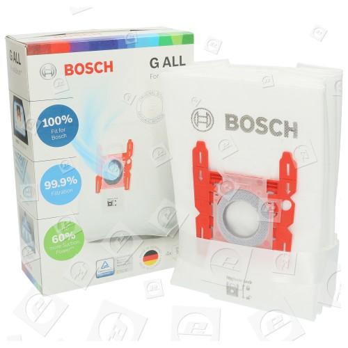 Sacs Aspirateur Synthétiques (Type G) (Paquet De 4) Bosch
