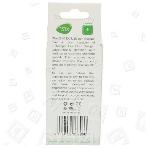 Universal 2,1A DC USB Kfz-Ladegerät