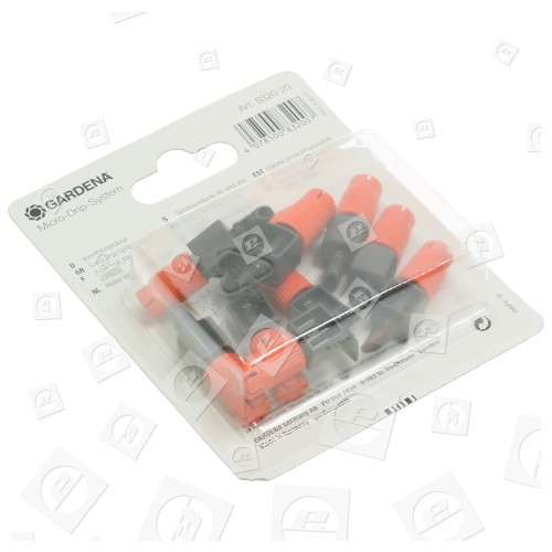 Micro-asperseurs Pour Petites Surfaces ( Lot De 10 ) Gardena