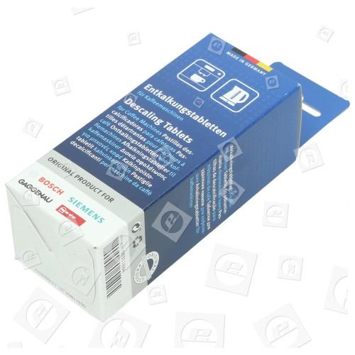 Confezione 6 pastiglie decalcificante macchine caffe Bosch Siemens Gaggenau Neff