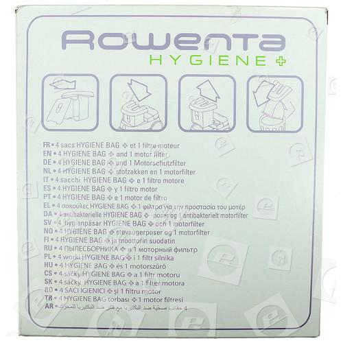 Rowenta ZR001201 Hygiene- + Staubsaugerbeutel Kit