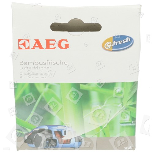 AEG ASBA S-fresh™ Lufterfrischer - Bambusfrische - 4er Packung