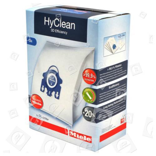 Miele GN HyClean 3D Efficiency-Staubsaugerbeutel (4er Pack) & Filterset