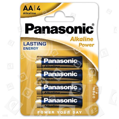 "Piles Alcalines ""Power"" LR6 AA Panasonic"