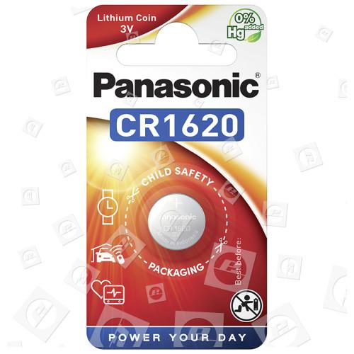 Pile Bouton Lithium CR1620 Panasonic